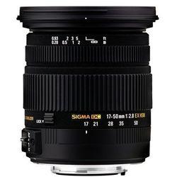 SIGMA 17-50 mm F2.8 EX DC OS HSM obiektyw mocowanie Nikon