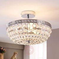Lampy sufitowe, Mieniąca się kryształowa lampa sufitowa Mondrian