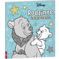 Książki dla dzieci, Disney. Rodzinne kolorowanie. Mój brat niedźwiedź (opr. miękka)