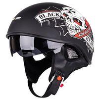 Kaski motocyklowe, Kask motocyklowy W-TEC V535 Black Heart, XXL (63-64)