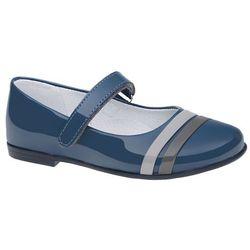 Balerinki niebieskie buty KORNECKI 4681 Lakierki - Multikolor ||Morski ||Niebieski