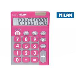 Kalkulator MILAN Kalkulator 10 pozycyjny Touch Duo różowy - WIKR-957376 Darmowy odbiór w 21 miastach!