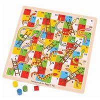 Gry dla dzieci, Klasyczna gra Węże i drabiny