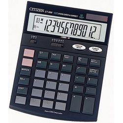 Kalkulator Citizen CT-666 - Porady, wyceny i zamówienia tel. 34 366-72-72 sklep@solokolos.pl - Autoryzowana dystrybucja - Szybka dostawa