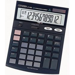 Kalkulator Citizen CT-666 - Rabaty - Porady - Hurt - Negocjacja cen - Autoryzowana dystrybucja - Szybka dostawa.