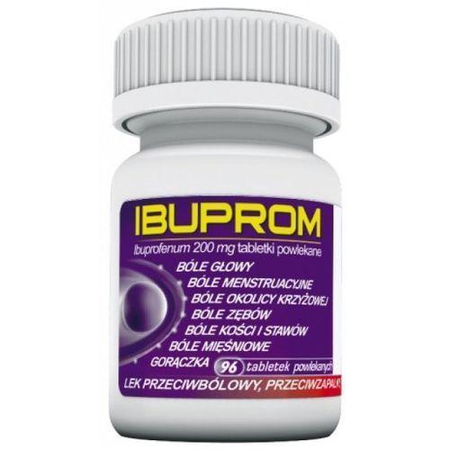 Leki na gorączkę, Ibuprom 200 mg 96 tabl.