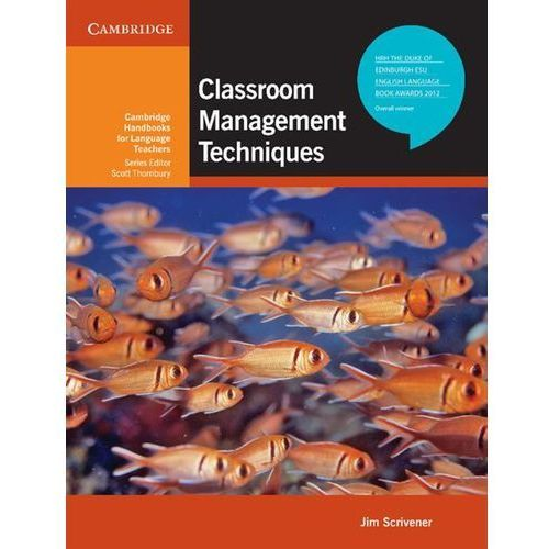 Książki do nauki języka, Classroom Management Techniques Cambridge Handbooks For Language Teachers (opr. miękka)