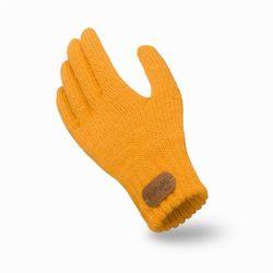 Rękawiczki dziecięce PaMaMi - Miodowy - Miodowy