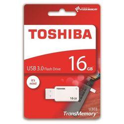 Pendrive Toshiba U303 16GB USB 3.0 White (THN-U303W0160E4) Darmowy odbiór w 20 miastach!