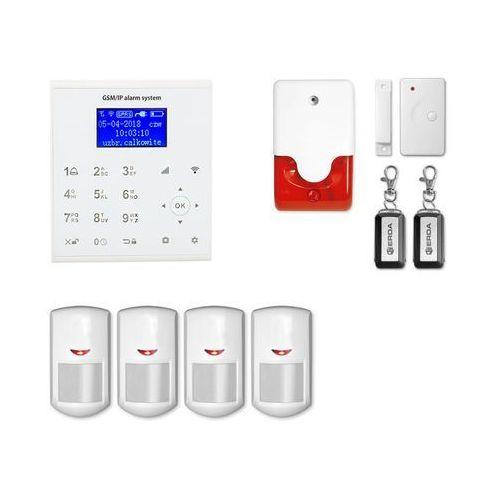Syreny alarmowe, Alarm bezprzewodowy gsm + WiFi E8 R4 + syrena 105 dB - E8 R4 + syrena 105 dB