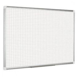 Kratkowana tablica do pisania, krat. 2,5x2,5 cm - 1800x1200 mm