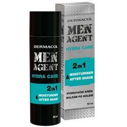 Dermacol Men Agent Hydra Care 2in1 balsam po goleniu 50 ml dla mężczyzn