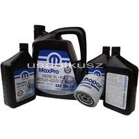 Filtry oleju, Oryginalny filtr oraz olej MOPAR 5W20 Jeep Grand Cherokee 5,7 Hemi -2008