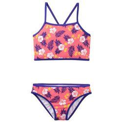 Bikini dziewczęce (2 części) bonprix jasnoróżowo-szafirowy