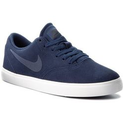 Buty NIKE - Sb Check Suede (GS) AR0132 400 Midnight Navy/Midnight Navy