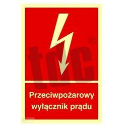 Przeciwpożarowy wyłącznik prądu Art. BB012