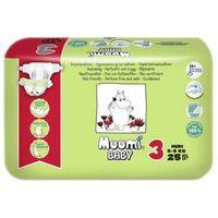 Pieluchy jednorazowe, Muumi Midi 5-8kg, 25 szt.
