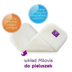 - MILOVIA - Wkład chłonny do otulacza lub pieluszki, wielowarstowy MIKROFIBRA
