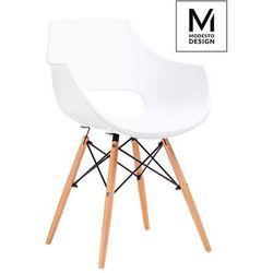 Fotel FORO biały PW007.WHITE - King Home - Sprawdź kupon rabatowy w koszyku