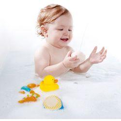 Hape Zabawki kąpielowe Miś i Przyjaciele E0201