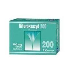 NIFUROKSAZYD 200mg x 12 tabletek