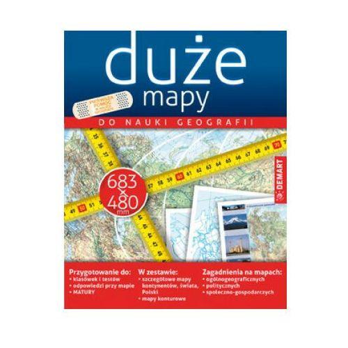 Książki dla dzieci, Zestaw map do nauki geografii (opr. miękka)