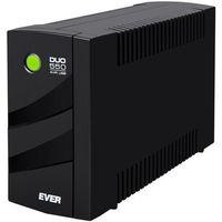 Zasilacze UPS, EVER UPS DUO 550 AVR USB T/DAVRTO-000K55/00