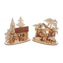 Stojak Sceneria świąteczna Ozdoby choinkowe