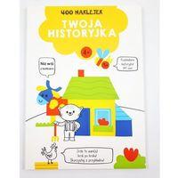 Naklejki, 400 naklejek 4+ twoja historyjka Żółta - książka