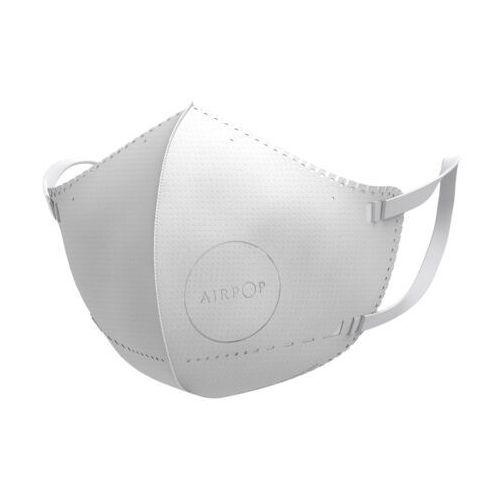 Maski antysmogowe, AirPop Kids 4 szt. (biały)