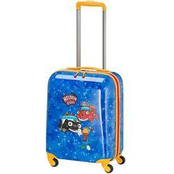 Travelite Bohaterowie Miasta walizka mała kabinowa dla dzieci 18/43 cm / niebieska - Navy
