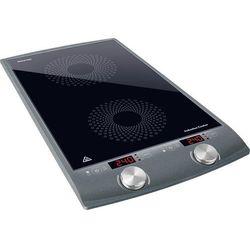 Kuchenka indukcyjna SENCOR SCP4202GY (pęknięcie)/ płyta ceramiczna / auto. wyłączanie / 2900 W - pęknięcie