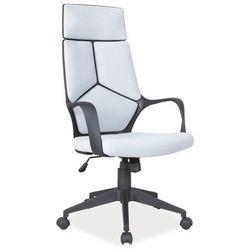 Fotel biurowy obrotowy SIGNAL Q-199 szaro czarny