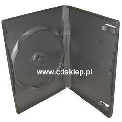 Etui plastikowe na 1DVD 14mm czarne