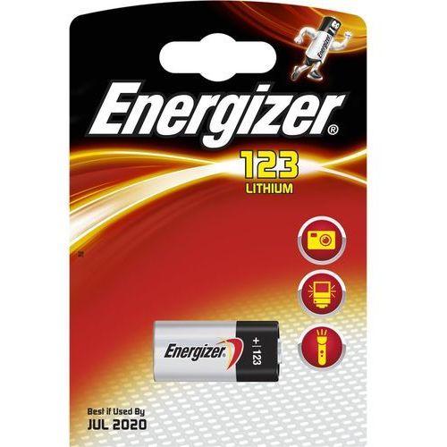 Baterie, bateria foto litowa Energizer CR123