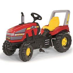 Rolly Toys traktor chodzik X-Trac ze skrzynią biegów - czerwony