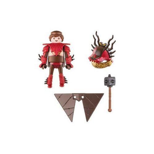 Figurki i postacie, Figurki Jak wytresować smoka - Sączysmark w zbroi do latania