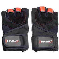 Rękawice na siłownię HMS RST01 (rozmiar S) Czarno-czerwony