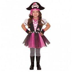 Kostium Różowa Piratka dla dziewczynki - 3/5 lat (104)