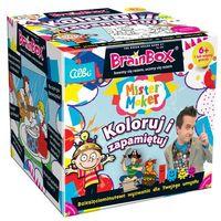 Gry dla dzieci, Brainbox Koloruj i zapamiętaj - Albi