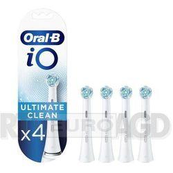 Końcówka szczoteczki ORAL-B Ultimate Clean iO Biały (4 sztuki)