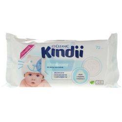 Chusteczki do skóry zdrowej Cleanic Kindii Skin Balance (72 sztuki)