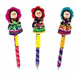 Długopis z laleczką