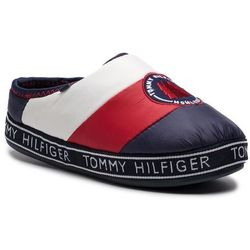 Kapcie TOMMY HILFIGER - Downslipper Patch FW0FW04182 Rwb 020