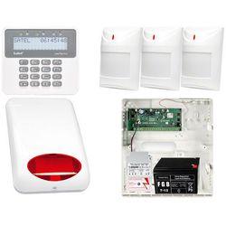 Alarm do domu firmy PERFECTA na telefon SMS + Manipulator PRF-LCD + 3x Czujnik ruchu + Akcesoria