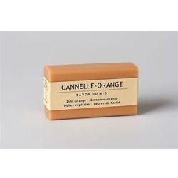 Mydło z masłem shea CANELLE-ORANGE (Cynamon & Pomarańcza)
