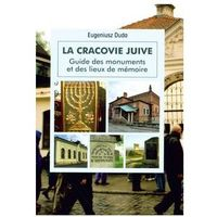 Przewodniki turystyczne, Żydowski Kraków Wer. Francuska - Eugeniusz Duda (opr. miękka)