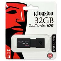 Flashdrive, Pendrive Kingston 32GB DataTraveler 100 G3 - USB 3.0