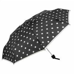 Knirps T.010 small manual Parasolka składana 18 cm dot art black ZAPISZ SIĘ DO NASZEGO NEWSLETTERA, A OTRZYMASZ VOUCHER Z 15% ZNIŻKĄ