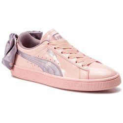 Sneakersy PUMA - Basket Bow Dots Jr 368980 02 Peach Bud-Elderberry